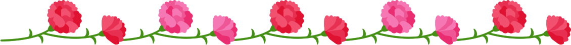 line-carnation-red-pink